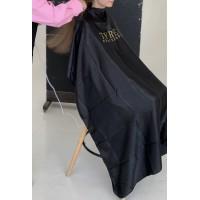 Пеньюар парикмахерский (черный)