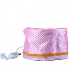 Термошапочка для волос (розовая)