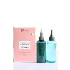 Парфюмированный перманентный состав для текстурирования волос Natural Flowers (гелевый) 2*100 мл